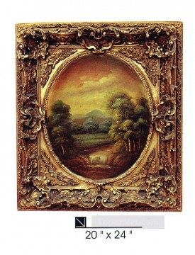 Frame Painting - SM106 SY 3002 resin frame oil painting frame photo