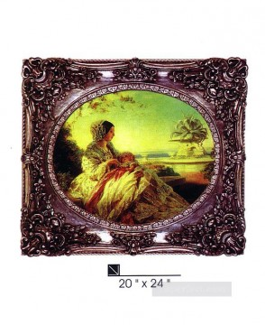 Frame Painting - SM106 SY 3014 resin frame oil painting frame photo