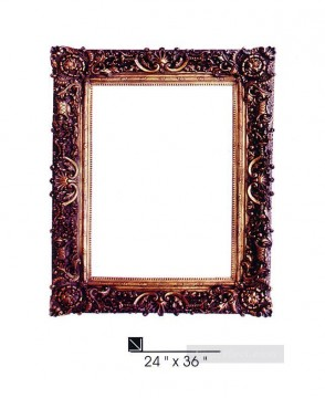 Frame Painting - SM106 SY 311 resin frame oil painting frame photo
