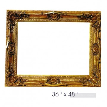 Frame Painting - SM106_sy 3110 resin frame oil painting frame photo