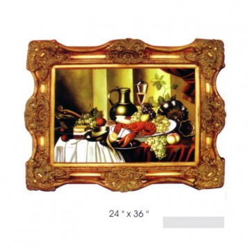 Frame Painting - SM106_sy 3122 resin frame oil painting frame photo