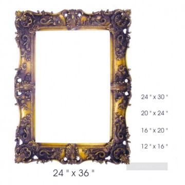 Frame Painting - SM106 sy a05 resin frame oil painting frame photo