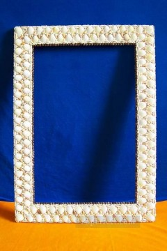 Frame Painting - SM102 FR 003 24by36inch shell frame box