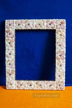 Frame Painting - SM102 FR 005 20by24inch shell frame box