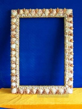 Frame Painting - SM102 FR 006 24by30inch shell frame box