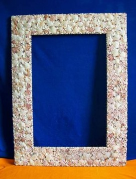 Frame Painting - SM102 FR 008 30by40inch shell frame box