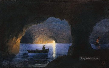 Naples Canvas - Azure Grotto Naples Romantic Ivan Aivazovsky Russian