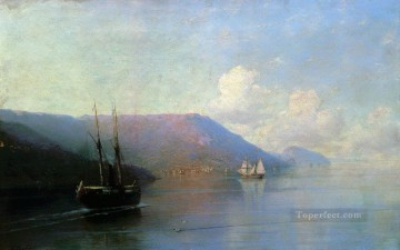 crimean coast 1886 Romantic Ivan Aivazovsky Russian Oil Paintings