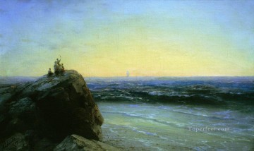 1895 Works - farewell 1895 Romantic Ivan Aivazovsky Russian