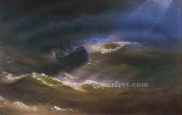 st Oil Painting - maria in storm 1892 seascape Ivan Aivazovsky