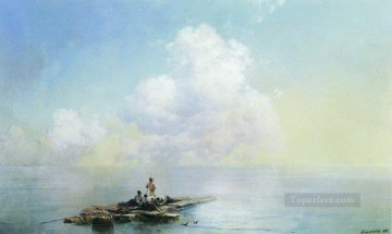 Ivan Konstantinovich Aivazovsky Painting - morning after the storm 1888 Romantic Ivan Aivazovsky Russian