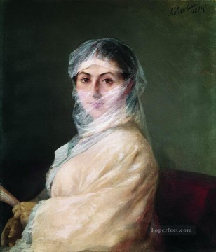 portrait of the artist s wife anna burnazyan Ivan Aivazovsky Oil Paintings