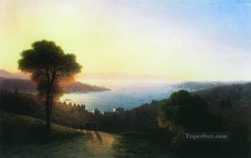 1874 Works - view of the bosporus 1874 Romantic Ivan Aivazovsky Russian