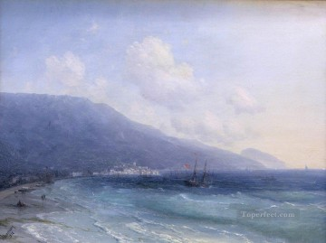 yalta 1878 Romantic Ivan Aivazovsky Russian Oil Paintings