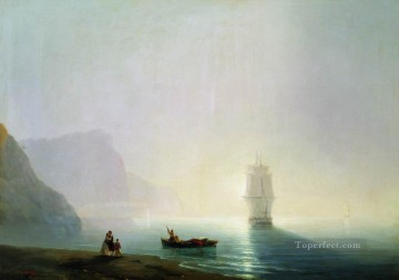 morning 1851 Romantic Ivan Aivazovsky Russian Oil Paintings