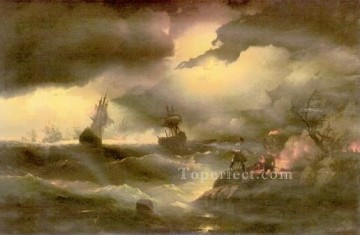 Artworks by 350 Famous Artists Painting - peter 1846 seascape Ivan Aivazovsky