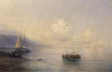 romantic romantism Painting - seascape 1898 Romantic Ivan Aivazovsky Russian