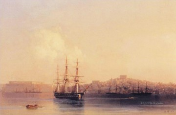 sevastopol 1852 Romantic Ivan Aivazovsky Russian Oil Paintings