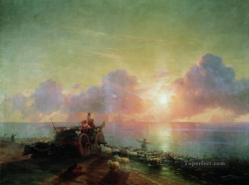 PD Art - sheepdip 1878 Romantic Ivan Aivazovsky Russian