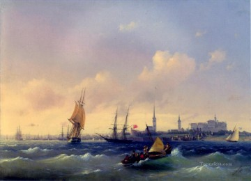 romantic romantism Painting - reval city Romantic Ivan Aivazovsky Russian