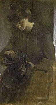 A Toiler John White Alexander Oil Paintings
