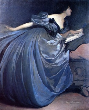 the Canvas - Althea John White Alexander