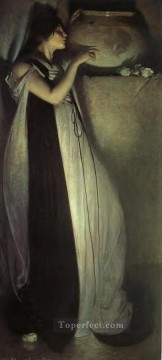 Isabella and the Pot of Basil John White Alexander Oil Paintings