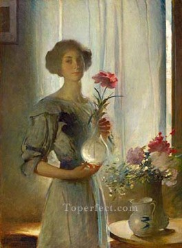 Artworks by 350 Famous Artists Painting - June John White Alexander