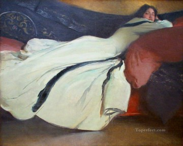 Artworks by 350 Famous Artists Painting - Repose John White Alexander