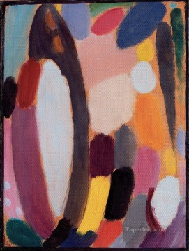 variation 1918 Alexej von Jawlensky Oil Paintings
