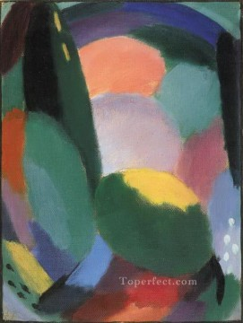 Artworks by 350 Famous Artists Painting - variation glorreicher abend sommersegen ii 1917 Alexej von Jawlensky