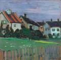 HOUSES WITH FRONT GARDENS Alexej von Jawlensky