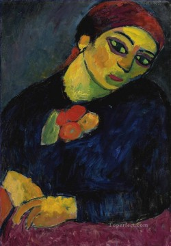 Artworks by 350 Famous Artists Painting - Helene Alexej von Jawlensky