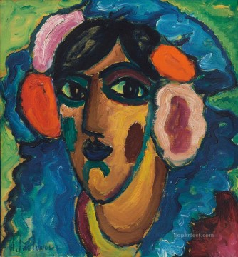 Artworks by 350 Famous Artists Painting - Infantin Spanierin Alexej von Jawlensky