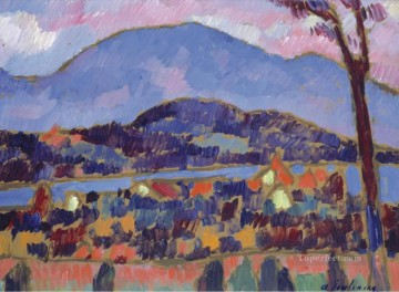 Artworks by 350 Famous Artists Painting - Murnau Alexej von Jawlensky