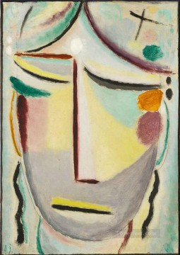SAVIOURS FACE MOONLIGHT ANNUNCIATION Alexej von Jawlensky Oil Paintings