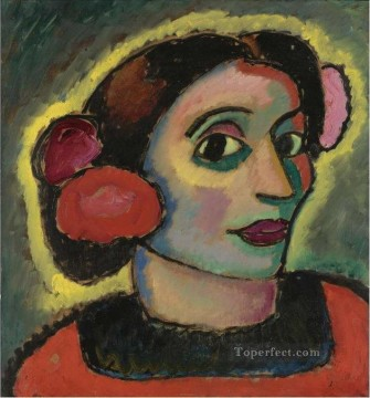 SPANISH WOMAN Alexej von Jawlensky Oil Paintings