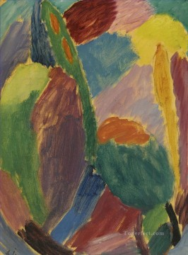 VARIATION 2 Alexej von Jawlensky Oil Paintings