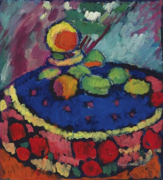 a round table Alexej von Jawlensky Oil Paintings