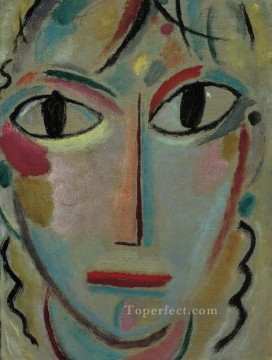 Artworks by 350 Famous Artists Painting - astonishment 1919 Alexej von Jawlensky