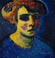 head of a woman 1911 Alexej von Jawlensky
