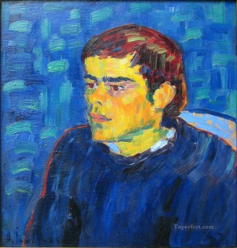 Artworks by 350 Famous Artists Painting - the hunchback 1905 Alexej von Jawlensky