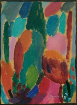 Artworks by 350 Famous Artists Painting - variation z rtlichkeiten 1917 Alexej von Jawlensky