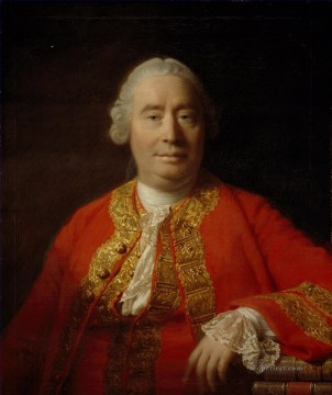 David Hume Historian and philosopher Allan Ramsay Portraiture Classicism Oil Paintings