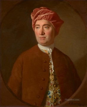 Portrait of David Hume Allan Ramsay Portraiture Classicism Oil Paintings
