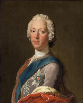 Prince Charles Edward Stuart Eldest Son of Prince James Francis Edward Stuart Allan Ramsay Portraiture Classicism Oil Paintings