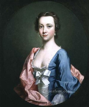portrait Painting - portrait of a lady Allan Ramsay Portraiture Classicism