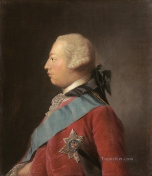 classicism Painting - portrait of king george iii Allan Ramsay Portraiture Classicism