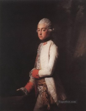 prince george augustus of mecklenburg strelitz Allan Ramsay Portraiture Classicism Oil Paintings