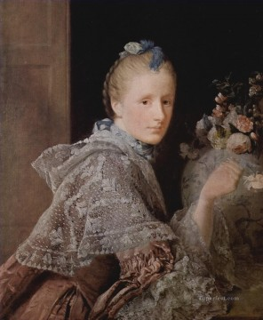 classicism Painting - the painter s wife margaret lindsay Allan Ramsay Portraiture Classicism